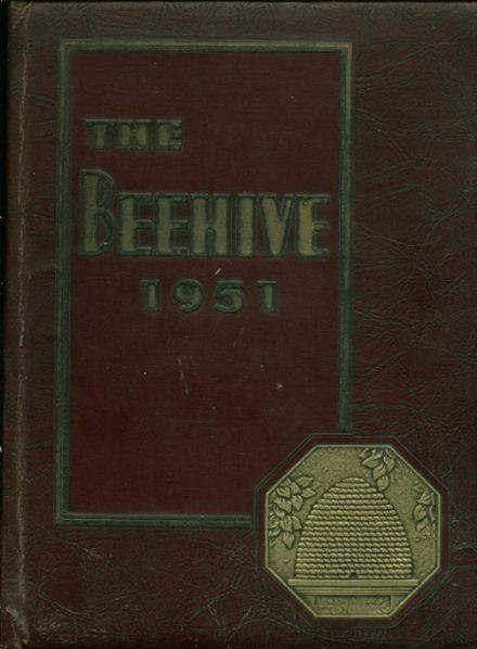 1951 New Britain High School Yearbook Cover