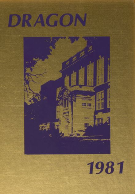1981 McClain High School Yearbook Cover