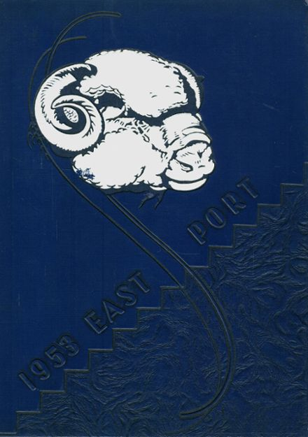 1953 East Mckeesport High School Yearbook Cover