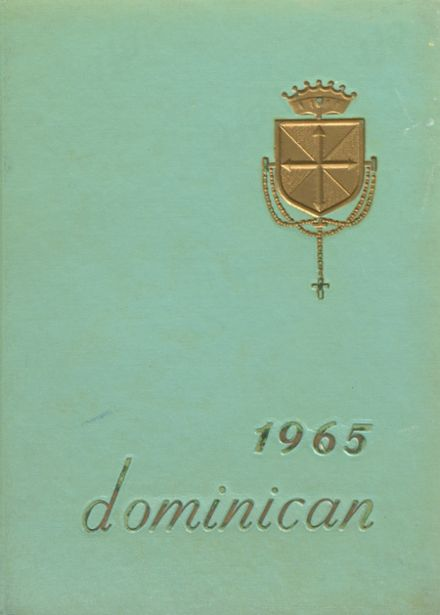 1965 Dominican Academy Yearbook Cover