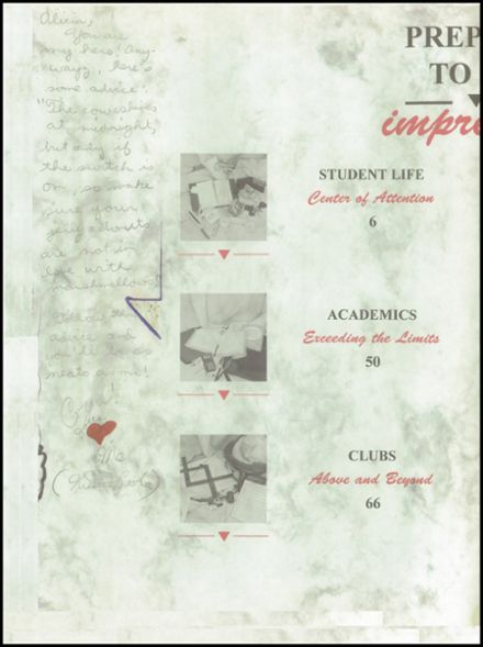 1993 Bella Vista High School Yearbook Page 4