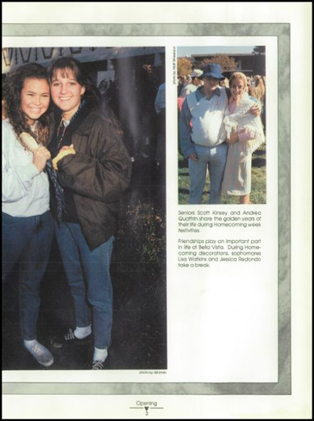 1993 Bella Vista High School Yearbook Page 9