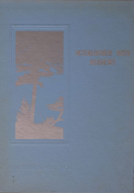 1971 Interlochen Arts Academy Yearbook Cover