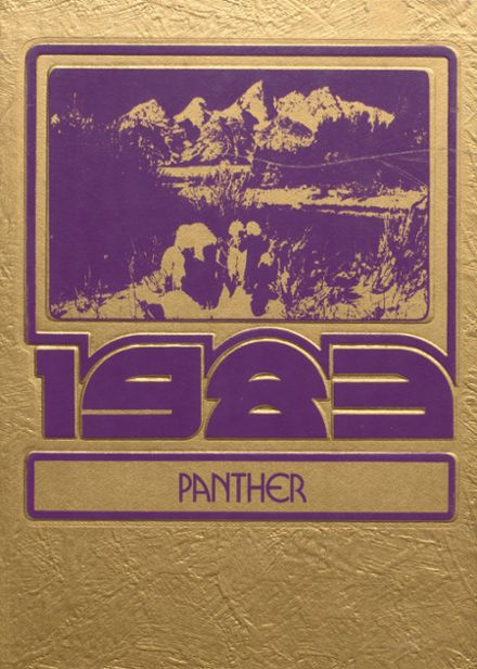 1983 Snake River High School Yearbook Cover