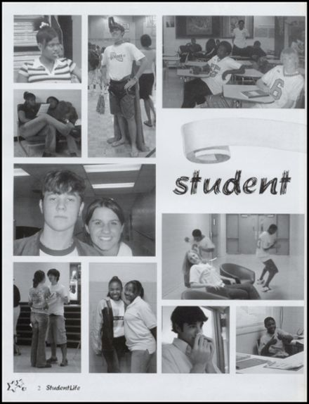 2003 Lee High School Yearbook Page 6