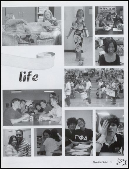 2003 Lee High School Yearbook Page 7