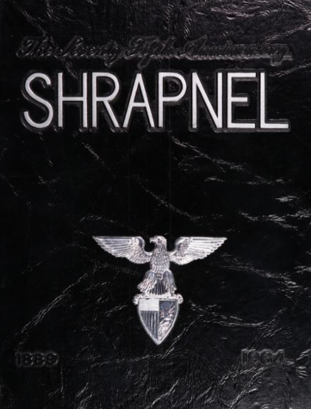 1964 New York Military Academy Yearbook Cover