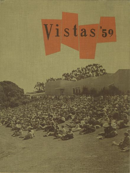 1959 Carlmont High School Yearbook Cover