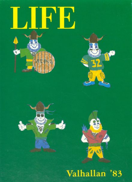 1983 Fremd High School Yearbook Cover