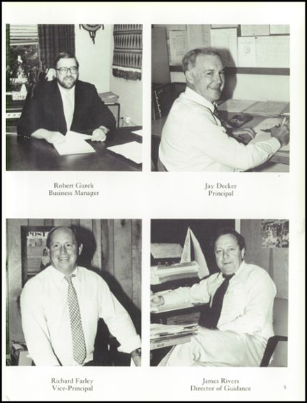 1984 Wahconah Regional High School Yearbook Page 9