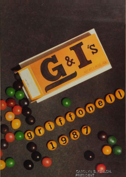 1987 Griffith Institute High School Yearbook Cover