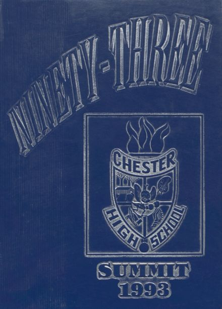 1993 Chester High School Yearbook Cover