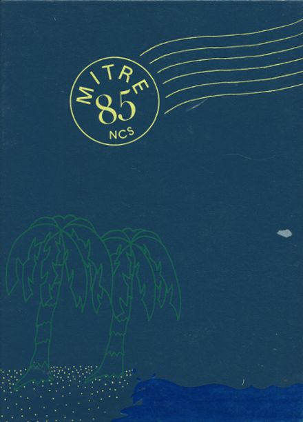 1985 National Cathedral School Yearbook Cover