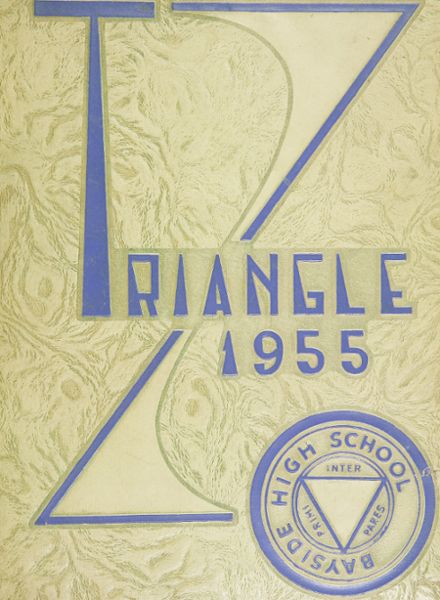 1955 Bayside High School Yearbook Cover