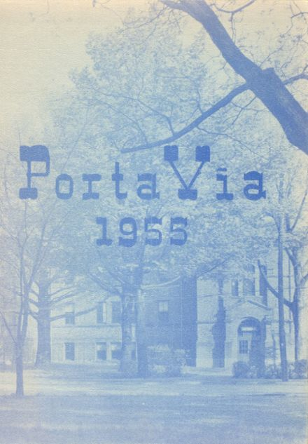 1955 Westfield Academy and Central School Yearbook Cover