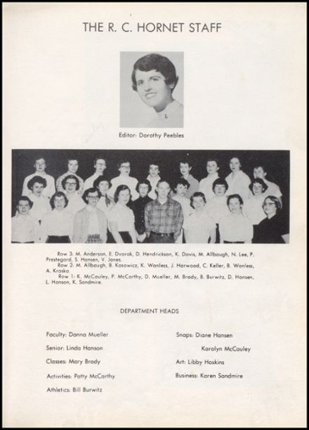 1955 Richland Center High School Yearbook Page 7