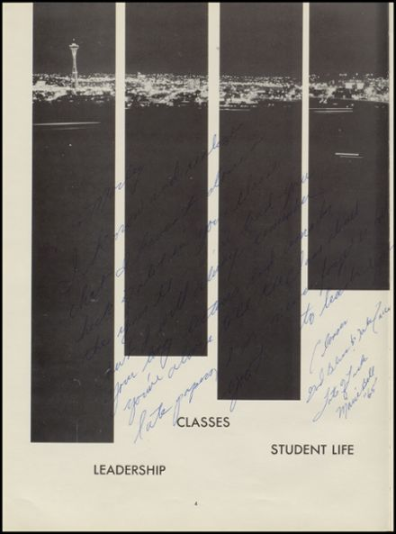 1964 Evergreen High School Yearbook Page 8