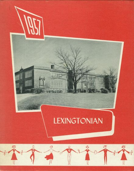 1957 New Lexington High School Yearbook Cover