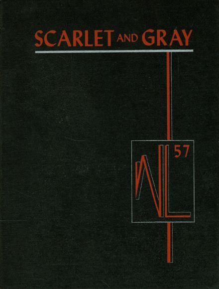1957 West Lafayette High School Yearbook Cover