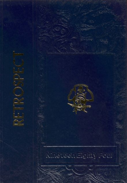 1984 Russia Local High School Yearbook Cover