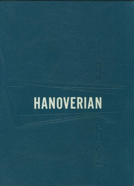1962 Hanover High School Yearbook Cover
