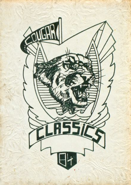 1984 Beaumont Charlton Pollard High School Yearbook Cover