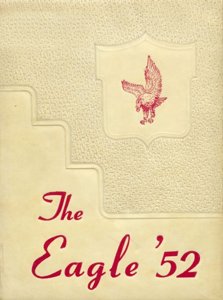 1952 Coldspring High School Yearbook Cover