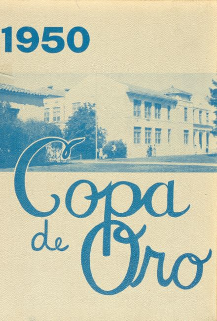 1950 Fillmore High School Yearbook Cover