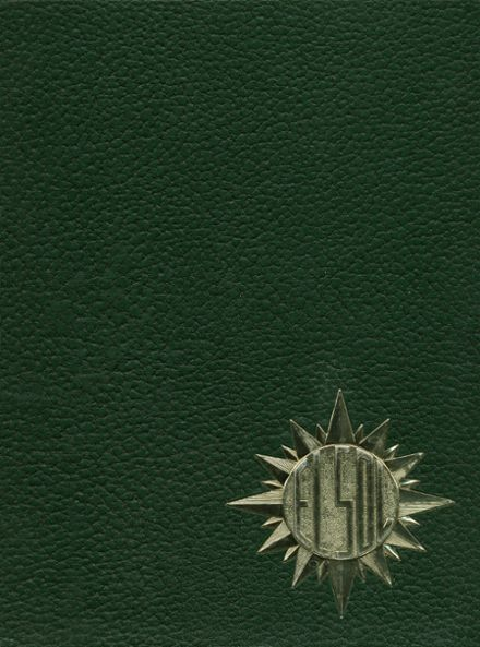 1968 Rancho High School Yearbook Cover