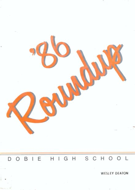 1986 Dobie High School Yearbook Online Houston Tx Classmates