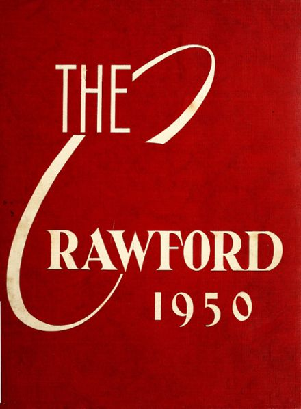 1950 Crawford County Community High School Yearbook Cover