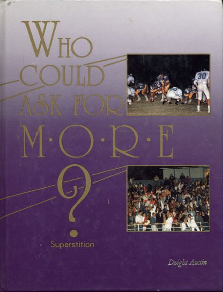 1987 Mesa High School Yearbook Cover