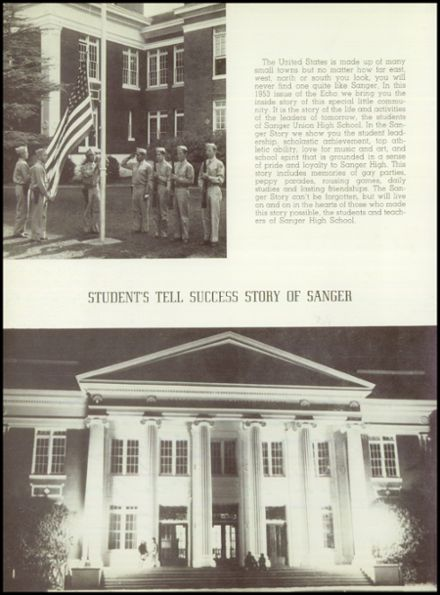 1953 Sanger High School Yearbook Page 8