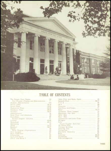 1953 Sanger High School Yearbook Page 9