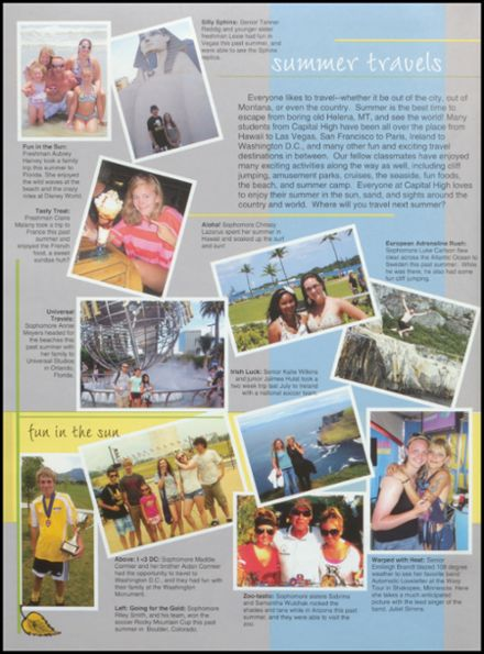 2012 Capital High School Yearbook Page 8