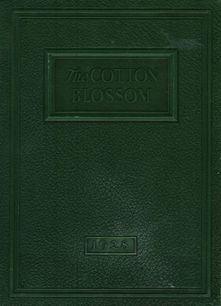 1928 Temple High School Yearbook Cover