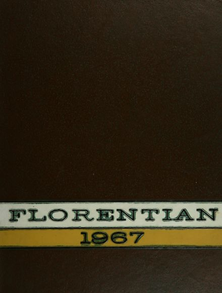 1967 Central Catholic High School Yearbook Cover