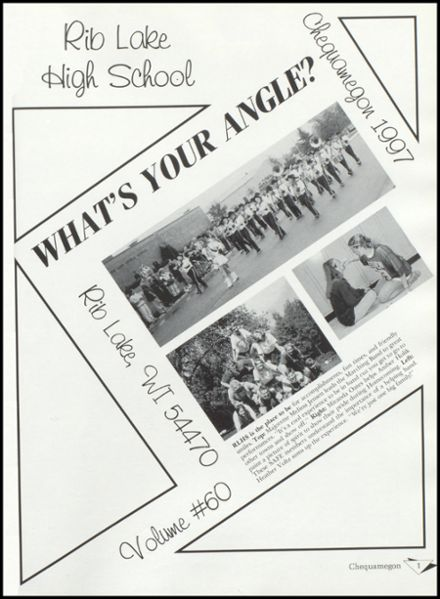 1997 Rib Lake High School Yearbook Page 5