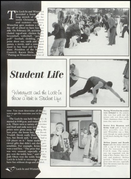 1997 Rib Lake High School Yearbook Page 8