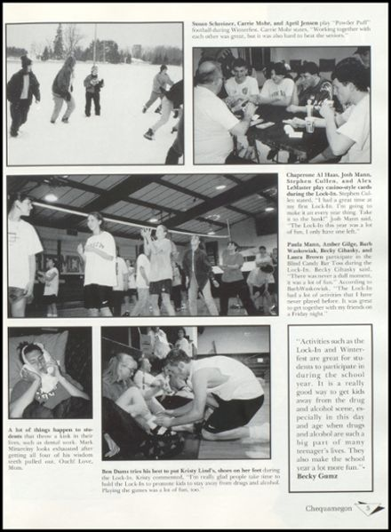 1997 Rib Lake High School Yearbook Page 9