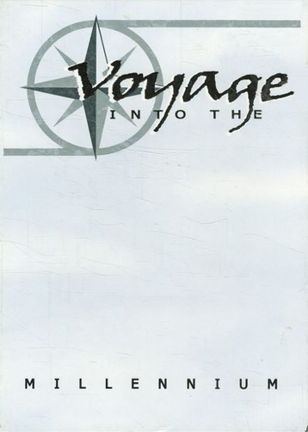 2000 Lutheran High School Yearbook Cover