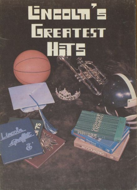 1977 Lincoln Community High School Yearbook Cover