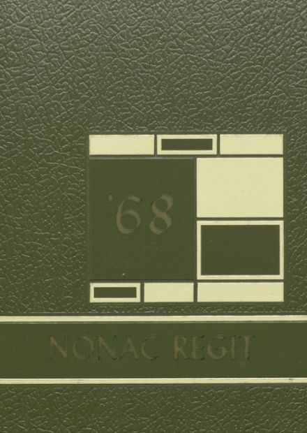 1968 Canon City High School Yearbook Cover