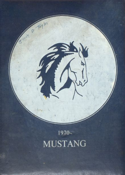 1970 Lone Jack High School Yearbook Cover