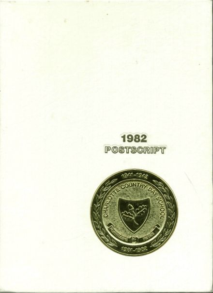 1982 Charlotte Country Day School Yearbook Cover