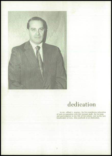 1973 Maine Central Institute Yearbook Page 6