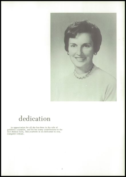 1973 Maine Central Institute Yearbook Page 7