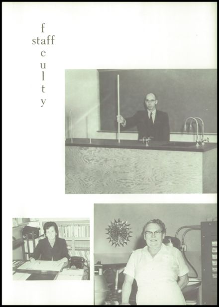 1973 Maine Central Institute Yearbook Page 9