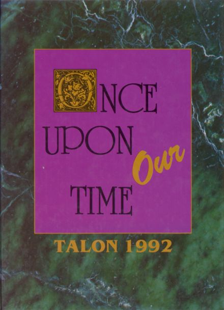 1992 Clinton Massie High School Yearbook Cover