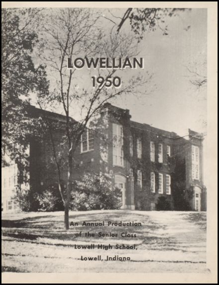 1950 Lowell High School Yearbook Page 5